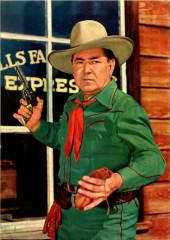 Verso de Four Color Comics (Dell - 1942) -618- Johnny Mack Brown