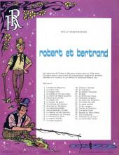 Verso de Robert et Bertrand -33- Le hollandais volant