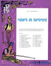 Verso de Robert et Bertrand -29- L'énigme Zarata