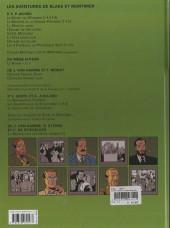Verso de Blake et Mortimer (Les Aventures de) -14a2010- La machination Voronov