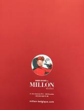 Verso de (Catalogues) Ventes aux enchères - Millon - Millon - bandes dessinées - 16 juin 2019 - Bruxelles