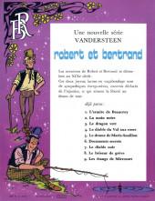 Verso de Robert et Bertrand -9- Les étangs de Miremort