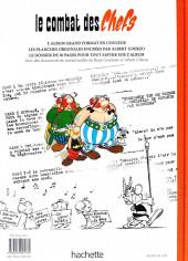 Verso de Astérix (albums Luxe en très grand format) -7- Le combat des Chefs