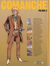 Verso de Comanche -INT3- Volume 3
