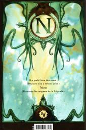Verso de Alias Nemo -1- Prince Dakkar