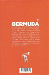 Verso de Projet Bermuda (Puis Bermuda) -11- Projet Bernuda