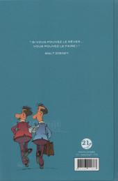 Verso de Deux frères à Hollywood - Deux frères à Hollywood - La Formidable Histoire de Walt et Roy Disney