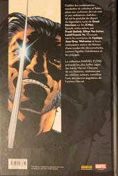 Verso de X-Men (Marvel Icons) -1- Tome 1