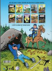 Verso de Les tuniques Bleues -26Été19- L'or du Québec