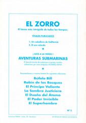 Verso de El Zorro -2- El oro robado