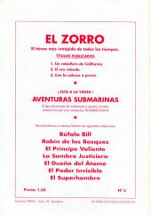 Verso de El Zorro -3- Con la cabeza a precio