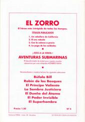 Verso de El Zorro -4- La paga de los soldados