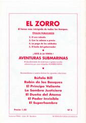 Verso de El Zorro -5- El baile del gobernador