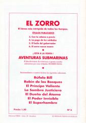 Verso de El Zorro -6- ¡¡El Zorro nunca muere!!
