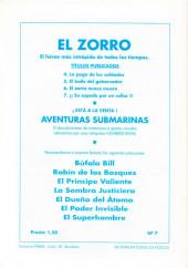 Verso de El Zorro -7- ¡¡Su espada por un collar!!
