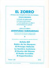 Verso de El Zorro -8- Un fantasma en el palacio
