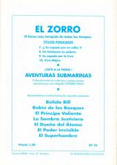 Verso de El Zorro -10- ¡¡Viva Méjico!!