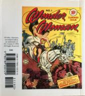 Verso de Wonder Woman