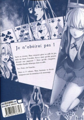 Verso de Gambling School - Twin -5- Volume 5
