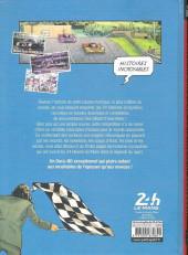 Verso de Histoires incroyables des 24h du Mans