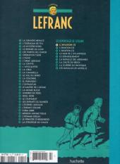 Verso de Lefranc - La Collection (Hachette) -I- L'aviation (1)