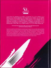 Verso de 50 ans d'édition Glénat - L'Album
