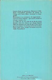 Verso de La famille Fenouillard -Poch- Part en voyage