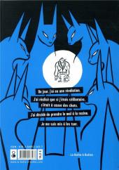 Verso de La brigade de répression du félinisme - Ou comment l'homme a voulu vaincre le chat pour sauver l'amour