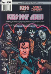 Verso de Kiss Army of Darkness