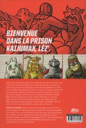 Verso de Kaijumax -1- Livre 1
