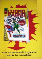 Verso de L'uomo Ragno V1 (Editoriale Corno - 1970)  -49- Trappola Tentacolare