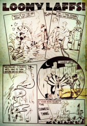 Verso de Marvel Mystery Comics (Timely - 1939) -2- (sans titre)