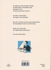 Verso de Le roman des Goscinny - Naissance d'un gaulois