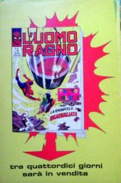 Verso de L'uomo Ragno V1 (Editoriale Corno - 1970)  -56- Il Mago