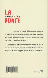 Verso de (AUT) Juillard - La honte, 50 nuances de rouge