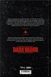 Verso de Star Wars - Dark Vador -INT01- Intégrale I