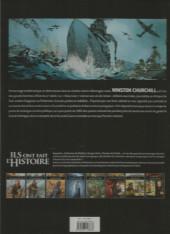 Verso de Ils ont fait l'Histoire -INTFL- Churchill 1/2