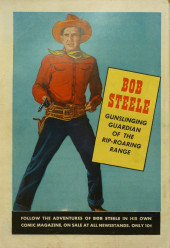 Verso de Bob Colt (1950) -8- The Redman's Revenge