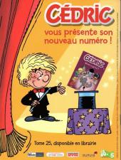 Verso de Cédric -JouéClub- Un héros qui te ressemble !
