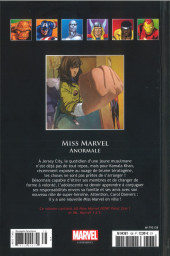 Verso de Marvel Comics - La collection (Hachette) -13898- Miss Marvel - Anormale