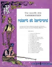 Verso de Robert et Bertrand -16- La maison hantée