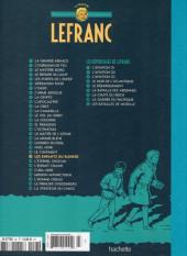 Verso de Lefranc - La Collection (Hachette) -22- Les enfants du bunker