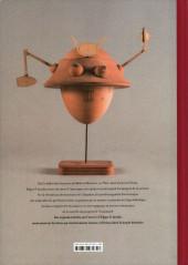 Verso de Blake et Mortimer (Divers) - Scientifiction - Blake et Mortimer au musée des Arts et Métiers