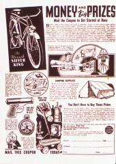 Verso de Marvel Mystery Comics (Timely - 1939) -6- (sans titre)
