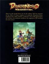 Verso de Dragonero aventures -1- Tome 1