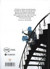 Verso de Rues de Montréal - Histoires urbaines en bandes dessinées