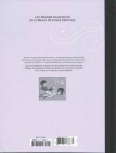 Verso de Les grands Classiques de la Bande Dessinée érotique - La Collection -8384- Arthur & Janet
