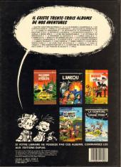 Verso de Spirou et Fantasio -33- Virus