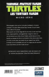 Verso de Teenage Mutant Ninja Turtles - Les Tortues Ninja (HiComics) -HS- Micro-série - Michelangelo