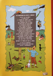 Verso de Tintin - Pastiches, parodies & pirates - Nitnit et le mystère du Lambda Rose